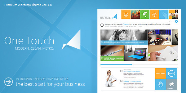 One Touch Themeforest WordPress Theme | THEME WORDPRESS FREE